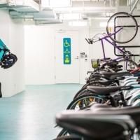 Casselden Basement Cyclist Facilities